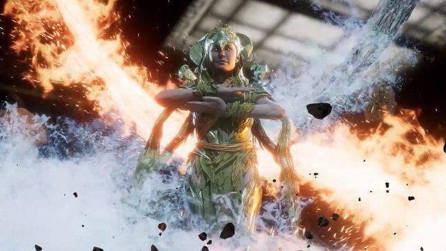 Персонаж, требующий тактического мышления — способности богини Цетрион из Mortal Kombat 11
